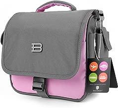 BAGSMART Digital SLR/DSLR Compact Camera Shoulder Bag, Travel SLR Gadget Bag, Pink