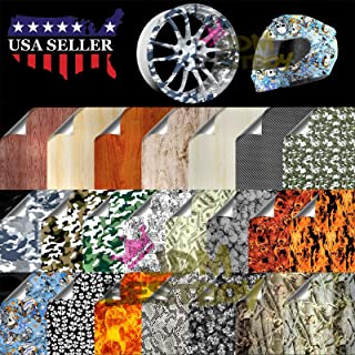 Hydrographic Film Hydro Dipping Dip Water Transfer Printing Snow Camo Camouflage Print Decoration #8 19