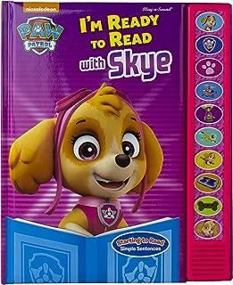 Nickelodeon Paw Patrol - I'm Ready To Read With Skye Sound Book - PI Kids
