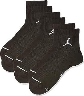 Mens Jumpman Quarter Socks M Black