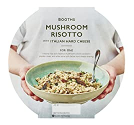 Booths Mushroom Risotto with Italian Hard Cheese, 400 g