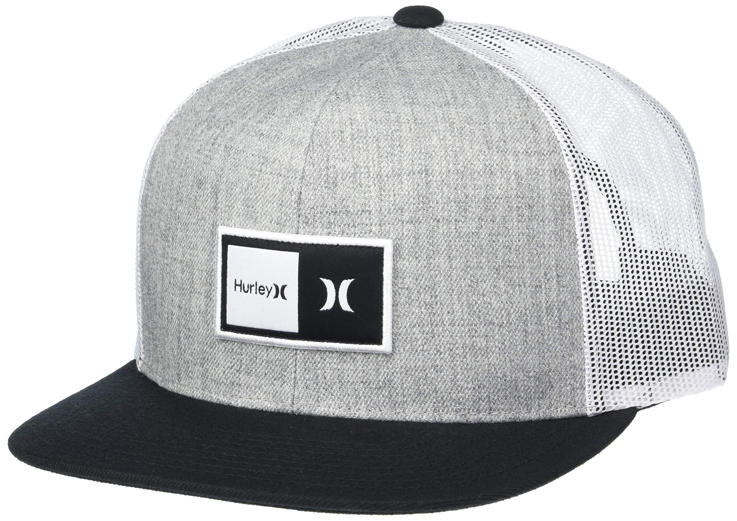 Hurley Mens Patch Trucker Baseball