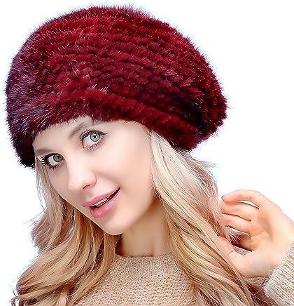 Wuyulunbi@ Ladies Winter Hat Beret Hat