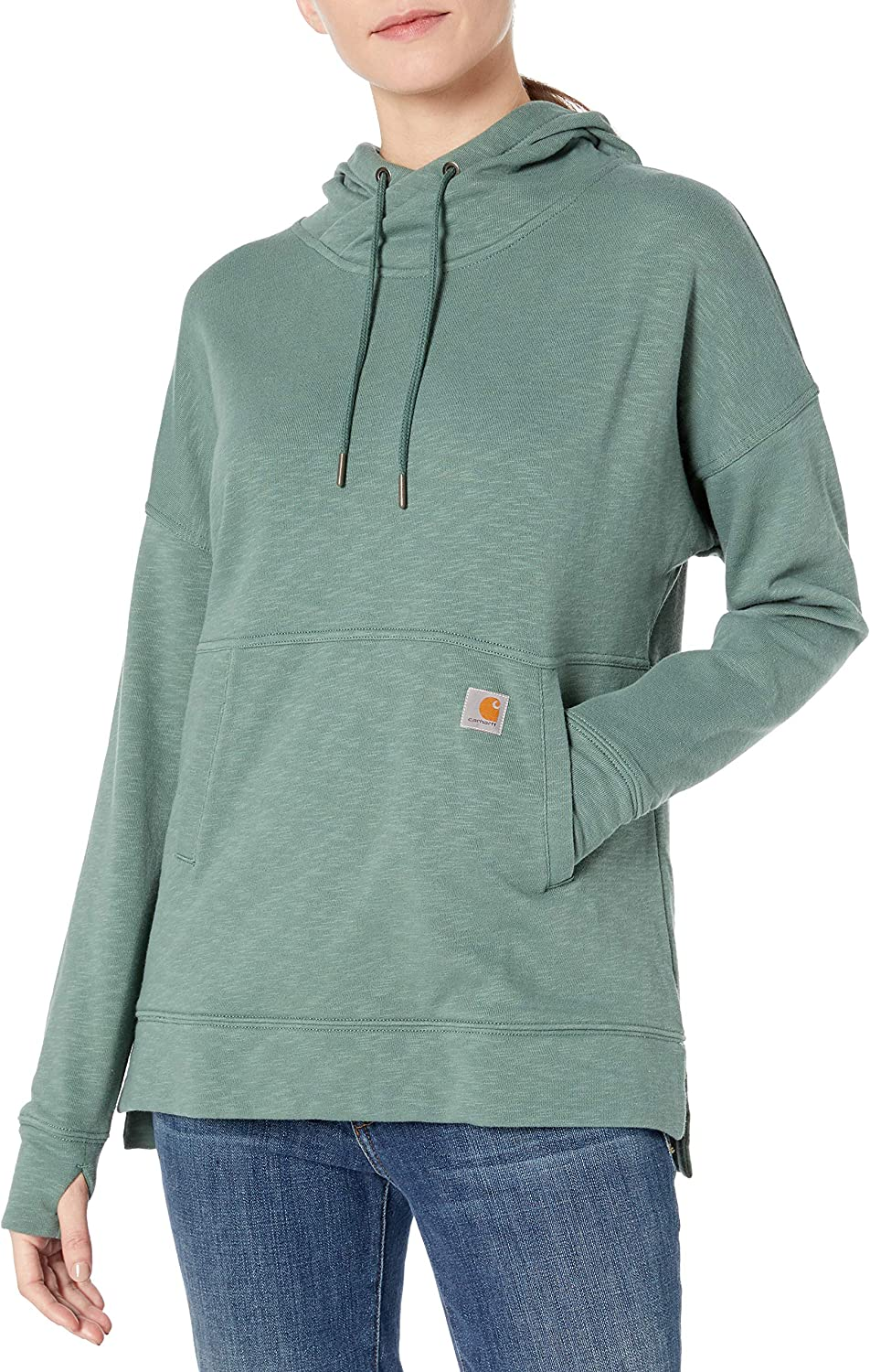 Carhartt Womens Newberry Hoodie Work Utility T-Shirt