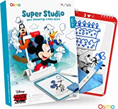 Osmo - Super Studio Disney Mickey Mouse & Friends Game - Ages 5-11 - Learn to Draw your Clubhouse Favorites & Watch them Come to Life - For iPad and Fire Tablet (Osmo Base Required)