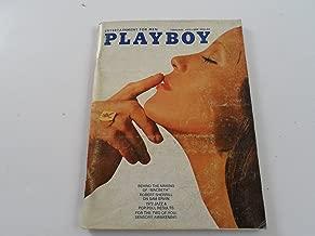 Playboy: Entertainment For Men: February 1972 Volume 19, Number 2.