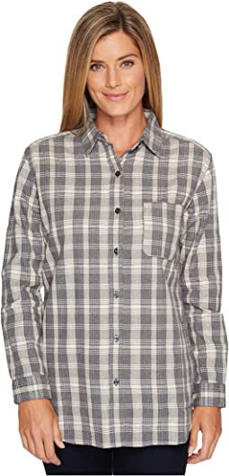 TNF Medium Grey Heather Plaid