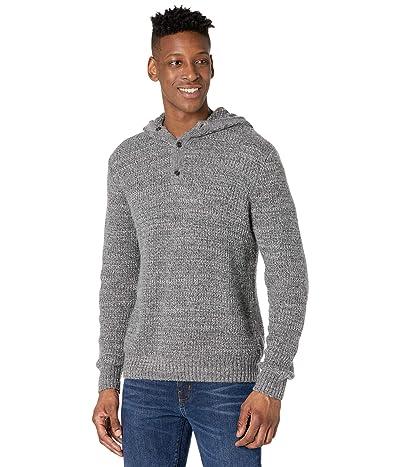Prana Carter Hood Sweater (Charcoal) Men