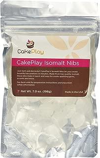 CakePlay Isomalt Nibs - Clear 7 Ounce