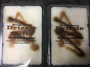 product image for Swan Creek Drizzle Melts Wax Warmer Triple Scented Cubes - 2 Pack Bundle (warm cinnamon buns)
