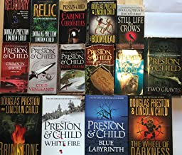 Agent Pendergast Series by Douglas Preston and Lincoln Child 15 Book Set