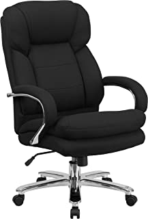 Flash Furniture HERCULES Series 24/7 Intensive Use Big & Tall 500 lb. Rated Black..