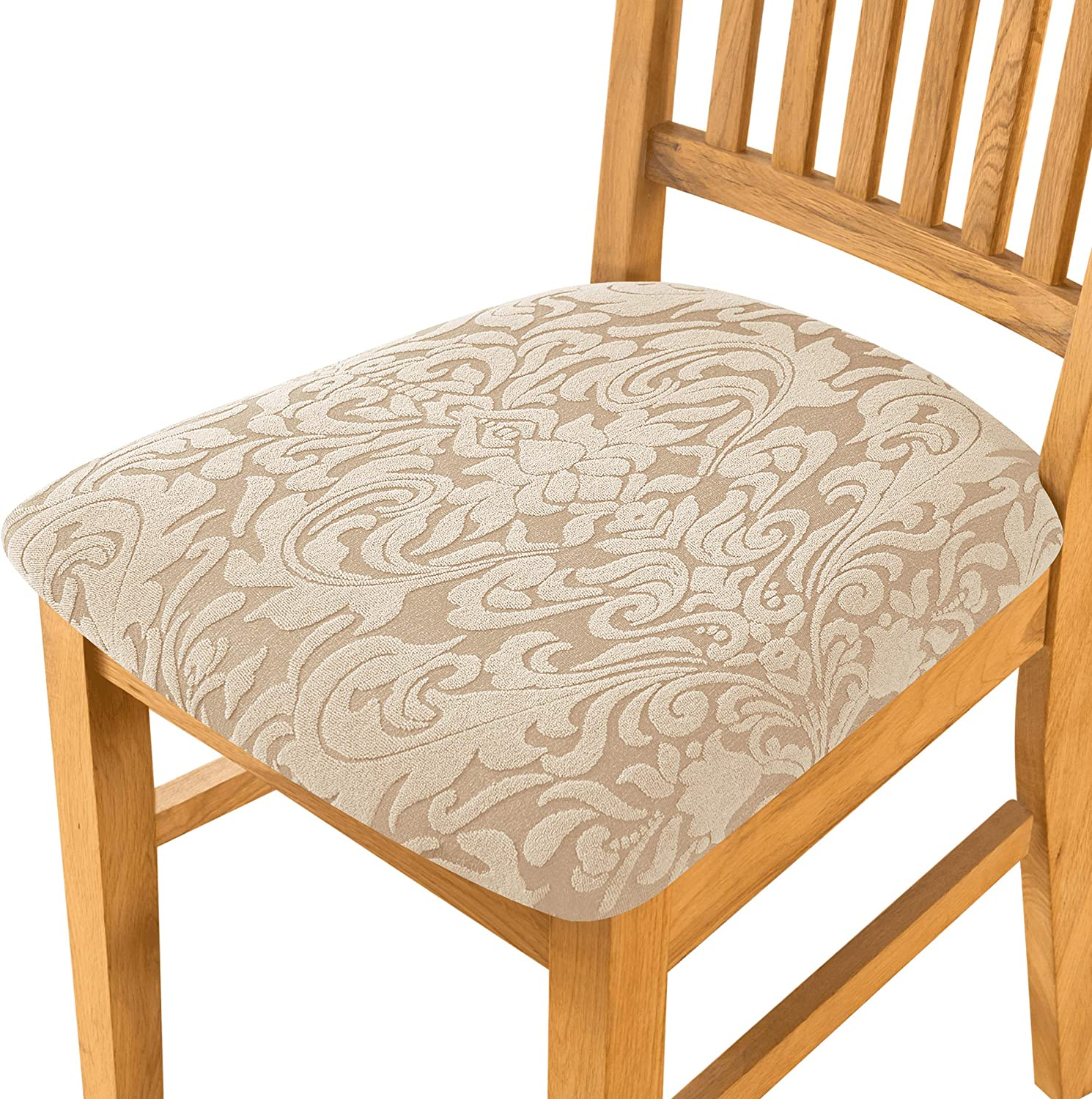 subrtex Seat Covers for Dining Chair Stretch Jacquard Max 56% OFF 55% OFF Room