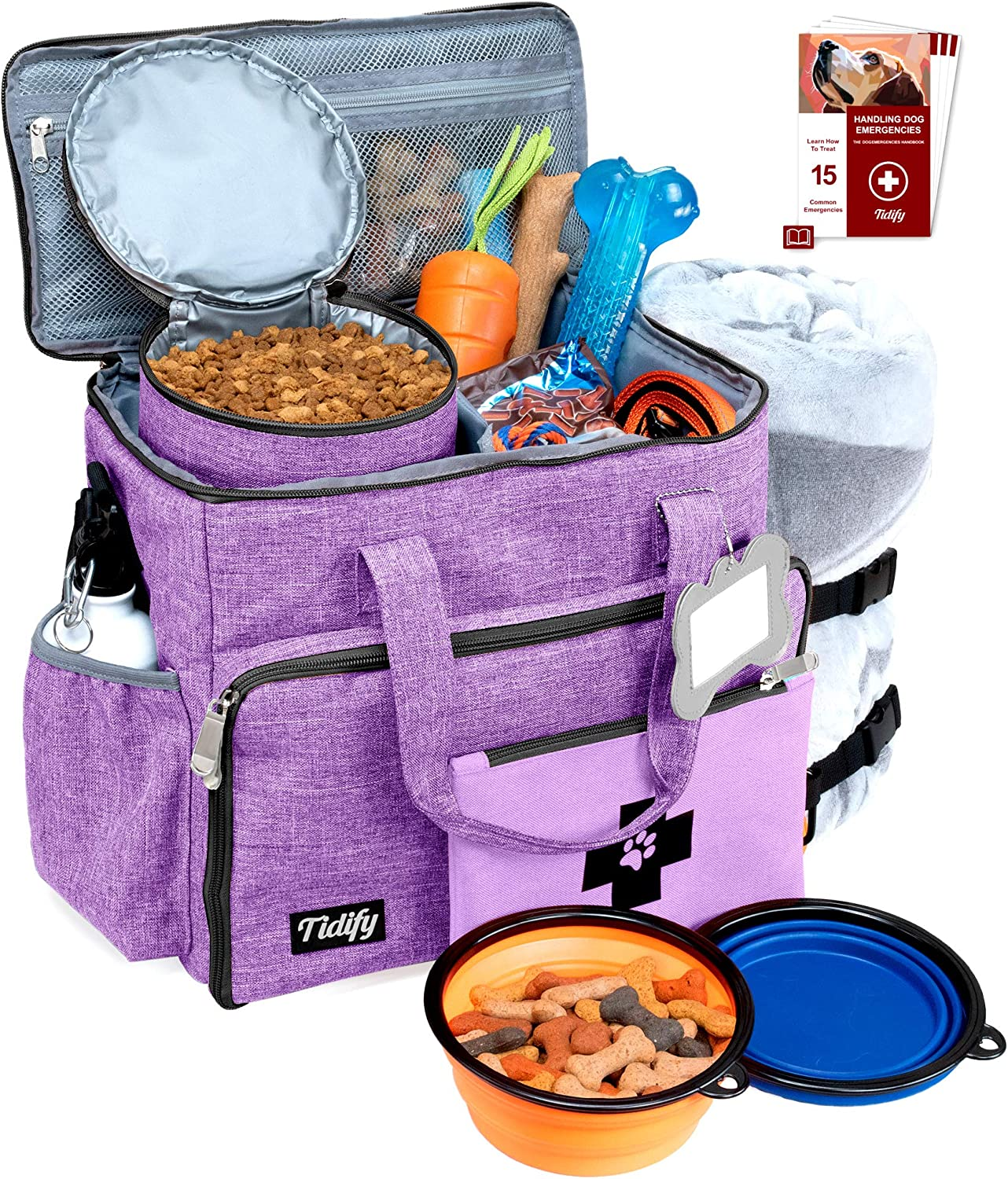 Dog Ranking TOP20 Travel Recommended Bag Week Away Overnight Accessories - Organizer F Pet
