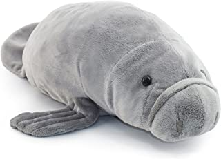 VIAHART Morgan The Manatee | 17 Inch Stuffed Animal Plush Sea Cow | by Tiger Tale Toys