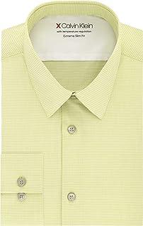 Men's Dress Shirt Xtreme Slim Fit-Thermal Stretch Check