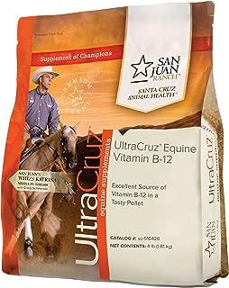 UltraCruz Equine Vitamin B-12 Supplement for Horses, 4 lb, Pellet (64 Day Supply)