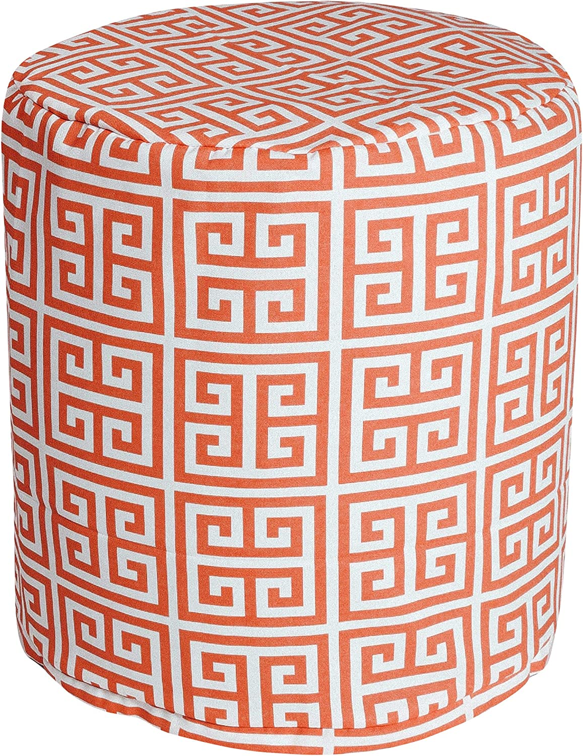 Factory outlet Majestic Home Goods Orange Towers Indoor Popular standard Ottoma Bean Bag Outdoor