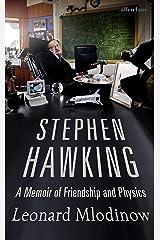 Stephen Hawking: A Memoir of Friendship and Physics (English Edition) eBook Kindle