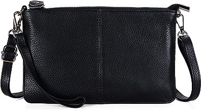 Befen Leather Wristlet Clutch Wallet Purses Small Crossbody Bags for Women