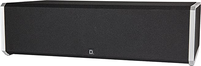 """Definitive Technology CS-9040 Center Channel Speaker   Built-in 8"""" Bass Radiator for Home Theater   High Performance   Premium Sound Quality   Single, Black"""
