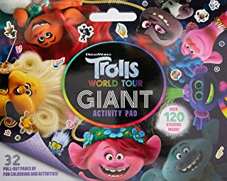 Trolls World Tour: Giant Activity Pad (DreamWorks)