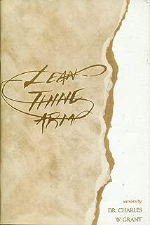 Lean Thine Arm: Sermons