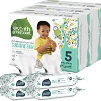 Deals on Seventh Generation Size 5 Diapers and Wipes Box Bundle