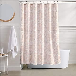 AmazonBasics Blush Bella Bathroom Shower Curtain - 72 Inch