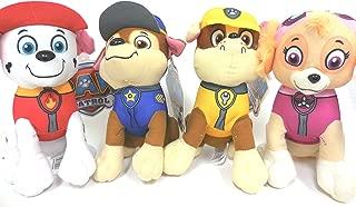 Paw Patrol Plush Pup Pal 4 Pcs Character Plush Set Marshall Chase Rubble Skye 9