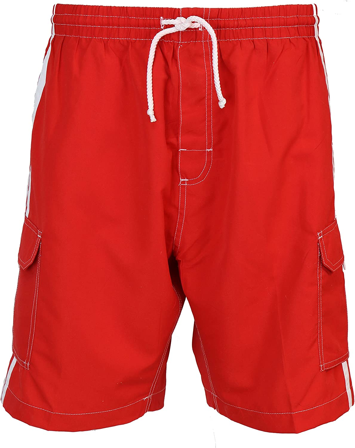 SURF AVE Men's Classic Five Pockets No Swim Grommets Max 79% OFF Trun Free shipping on posting reviews Long
