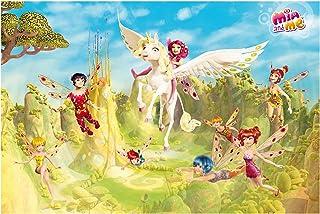 Bilderwelten Papier peint intissé - Mia and me - over the palace of elf - Mural Large papier peint photo intissé tableau mural photo 3D mural, Dimension HxL: 255cm x 384cm