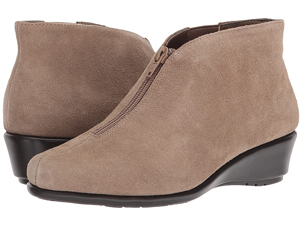 Image of Aerosoles Allowance (Taupe Suede) Women's Wedge Shoes