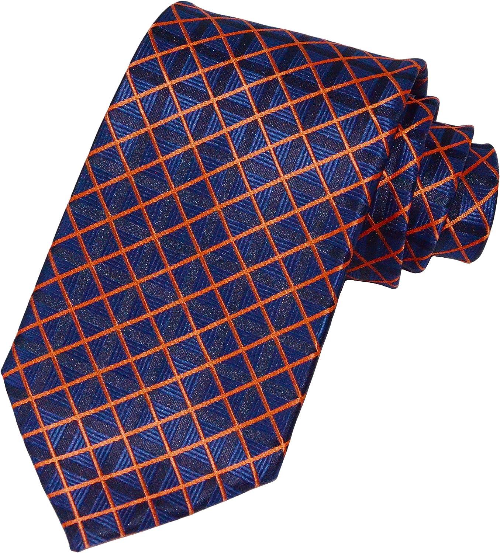 Max 74% OFF New Classic Striped Check Paisley JACQUARD Silk WOVEN New color Tie Men's