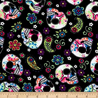 Best pink skull fabric by the yard Reviews