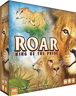 Roar: King of The Pride Strategic Board Game