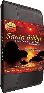 Santa Biblia Complete Reina Valera en 64 Audio CD Plus una Reina Valera 2000 Completa-Completa en MP3 Discs-Two Complete Biblias Español Reina Valera ... para cada disco (Spanish Edition)