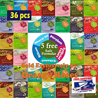 {Entel} 36 Pcs Combo-Pack, Premium Korean Essence Facial Mask Sheet (12 Types x 3 pcs), Five Chemical Free : No Paraben, N...