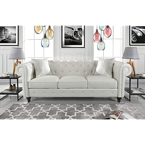 Fabulous Tufted Couches Amazon Com Download Free Architecture Designs Scobabritishbridgeorg