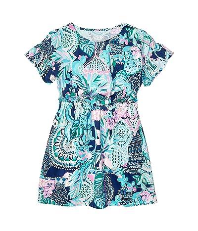 Lilly Pulitzer Kids Stasia Dress (Toddler/Little Kids/Big Kids) (Multi) Girl