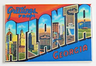 Greetings From Atlanta Georgia Fridge Magnet (2 x 3 inches)