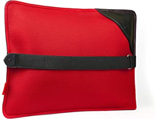 AJUVIA Back Vitalizer, Doctor Recommended Lower Back Support Pillow, Ergonomic Lumbar Support Cushion Provides Back Pain Relief For Car, Plane, Office Chair, Wheelchair, Meditation, Sciatica Therapy