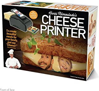 """Prank Pack """"Cheese Printer """" - Wrap Your Real Gift in a Prank Funny Gag Joke Gift Box - by Prank-O - The Original Prank Gift Box 