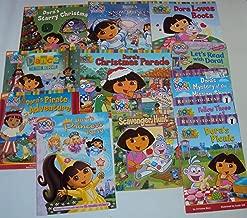Book Sets for Girls Dora the Explorer Books :Dora Loves Boots - Dora to the Rescue - Dora's Starry Christmas, Dora's Pirate Adventure - Dora's Christmas Parade - Dora Saves a Snow Princess (An Unofficial Box Set)