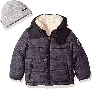 Boys' Reversible to Sherpa Fleece Jacket