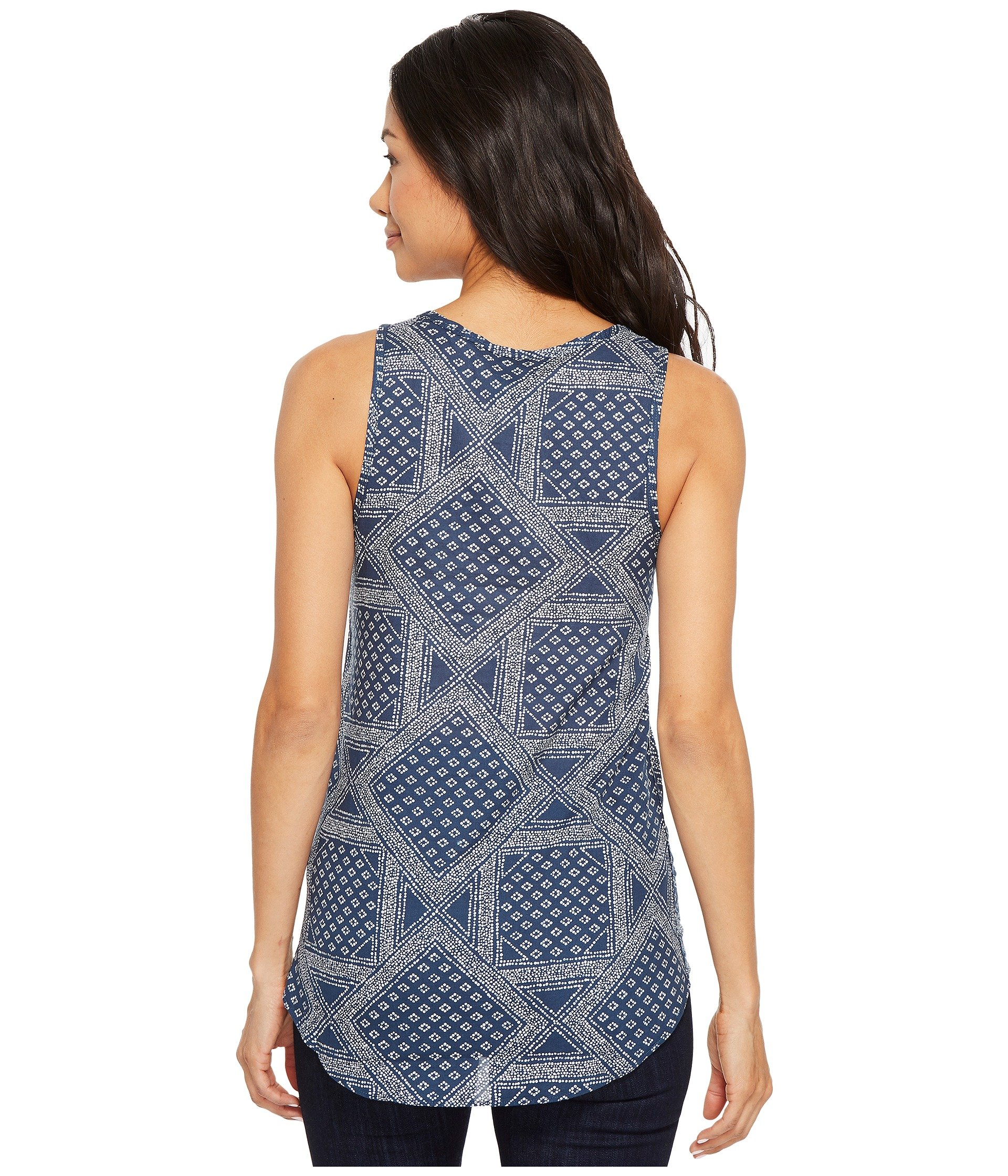 Tank The Top Face Wing Teal Print Blue Barilles North Bandana wF6fnqFt