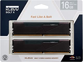 KLEVV デスクトップPC用ゲーミング メモリ PC4-25600 DDR4 3200 8GB x 2枚 288pin BOLTX シリーズ 永久保証 KD48GU880-32A160U