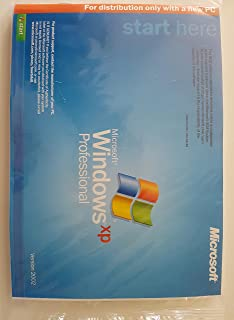 Microsoft Windows XP Professional SP3 32-bit w/ MUI for System Builders - 1 pack [Old Version]