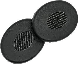Almohadillas de repuesto AHG para auriculares Bose On-Ear Wireless Triple Negro, SoundLink On-Ear (OE), Bose On-Ear 2 (OE2) y Bose SoundTrue On-Ear (OE) (negro/gris L/R malla)