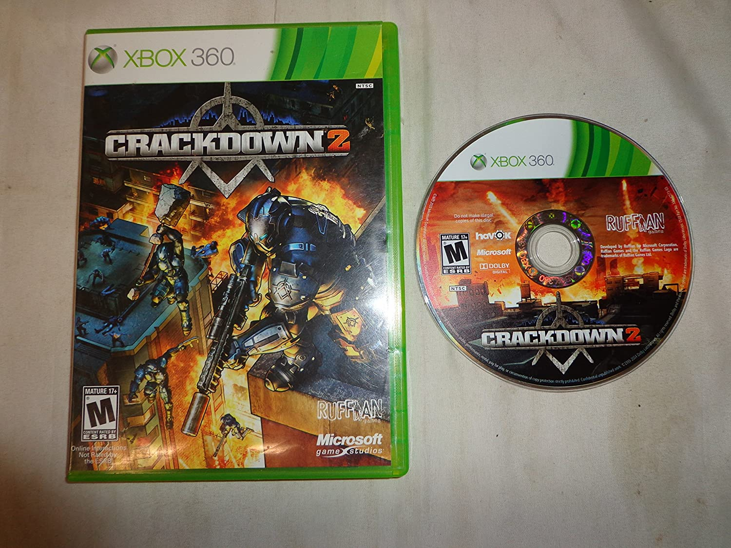 Crackdown 2 Spring new Inexpensive work X360